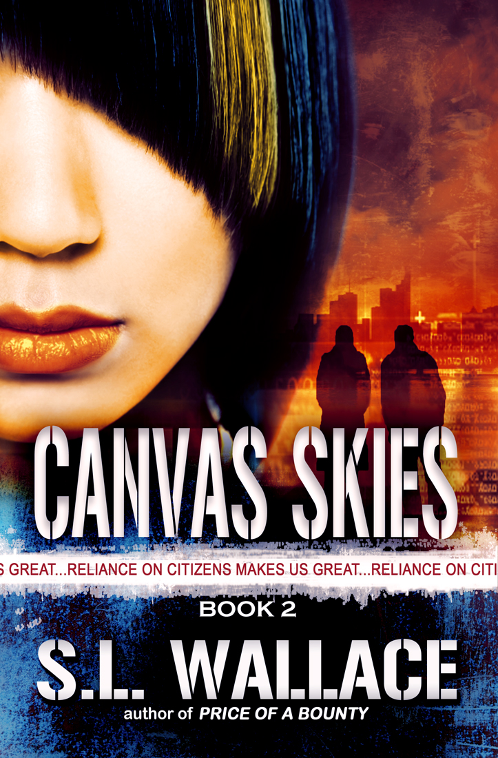 The Reliance on Citizens trilogy-Book Two Canvas Skies